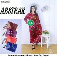 Longdress batik / daster lengan panjang / baju tidur wanita / daster