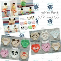 Training Pant Baby 3D Animal Ear 10 Motif - Celana Dalam Balita