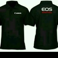 baju kaos polo shirt berkerah canon