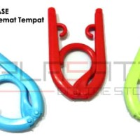 EASE 2 in 1 Clothes or Traveling Hanger Paket 1 Lusin
