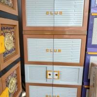 lemari plastik gantung 5 susun 2 pintu PREMIUM BESAR
