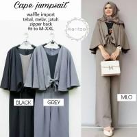 Baju Hijab Syari Wanita Terbaru - Cape Jumpsuit Hijabers Syari Muslim
