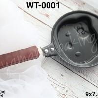 WT-0001 Mini frying pan wajan pancake crepe motif hello kitty