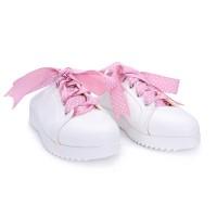 Leona Putih - Sepatu Sneakers Wanita POLLA POLLY