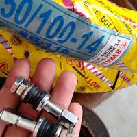 BAN SWALLOW UKURAN 50/100 RING 14 PLUS PENTIL TUBLES