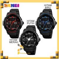 Jam Tangan Pria Dual Time SKMEI 1320 Casio Sport Original - Hitam