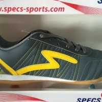 Termurah Sepatu Futsal Specs Horus In Dark Charcoal Yellow 2016 New