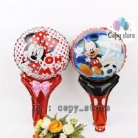 Balon Foil Pentung / Balon Tongkat Mickey Minnie Mouse