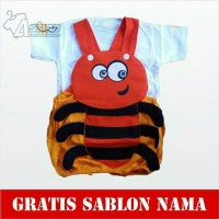 Baju Kodok Bayi lebah lucu Terlaris setelan bayi laki laki perempuan