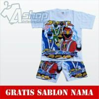 Baju Anak Setelan Power Ranger