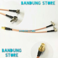 pigtail dual crc9 to rp sma female/pigtail modem huawei e3372