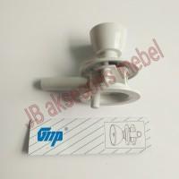 KUNCI PINTU KAMAR MANDI PVC / GAGANG TARIKAN HANDLE PUTAR PLASTIK