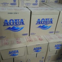 Aqua Botol 330ml Dus - 1dus@24botol