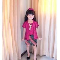 Baju/Fashion Setelan Kebaya Anak Perempuan/Cewek-Set Agustina kid 4WRN