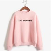 Ariana Grande Sweatshirt Tidak Ada Air Mata Kiri Menangis Hoodie
