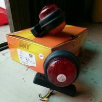 Lampu Bak/Aksesoris Mobil Truck/Alat LED DNY-299/DNY299 Merah-Amber