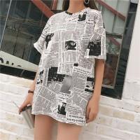 t shirt big size jumbo oversized motif koran printing pop art