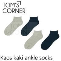 kaos kaki pendek   kaos kaki mata kaki   short socks   ankle socks