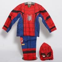 Setelan Kostum Anak SPIDER MAN II Homecoming Superhero Baju Kaos