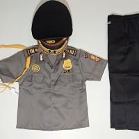 Seragam Profesi Anak Polisi Kostum Setelan Cowok Baju Kijang