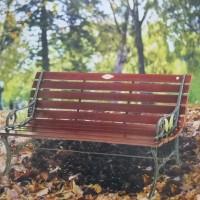 kursi teras kayu bench taman outdoor kursi tamu besi imax