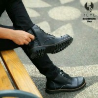 Sepatu PDL Casual Pria Reyl Safety Boot Slip on Boots Nike Adidas Fila