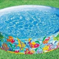 Kolam anak kolam renang intex tanpa pompa 183 cm snapset pool 56452