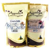 Ayudya Lulur Pengantin Goat's Milk / Chocolate Body Scrub 1kg