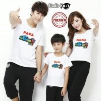 Kaos Keluarga / Baju Family ( 2 Dewasa 1 Anak ) TAYO