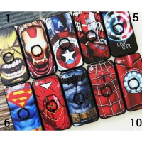 Superhero Armor + Ring Stand Oppo A37/ Neo 9 Case Softcase Casing