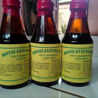 Minyak Kayu Balitung Penghitam Rambut Uban Asli Kalimantan