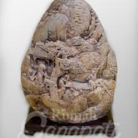Barang Antik - Pajatan Batu Kuno Budha