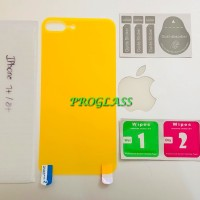 Iphone 7+ / 7 Plus BACK Cover CLEAR TPU Film Protector / Antigores