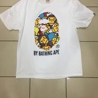 T-Shirt Bathing Ape Bape Big Head Baby Milo Mirror Quality