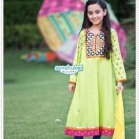 baju muslim anak / gamis anak murah / sari india senshukei kode FGHIJ