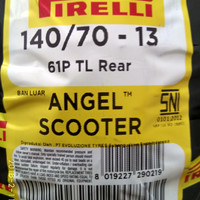 Ban Pirelli Nmax Angel Scooter Uk 140/70 Ring 13