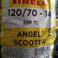 BAN PIRELLI FOR AEROX ANGEL SCOOTER UK 120/70 RING 14