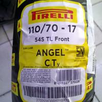 Ban Pirelli Angel City 110/70 ring 17