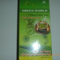Promo Clear Lung Tea Green World Hot
