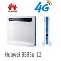 Modem Router WiFi Huawei B593 4G LTE Dengan Slot SIM card