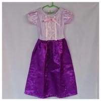 Baju Princess Rapunzel Usia 4-5 Tahun