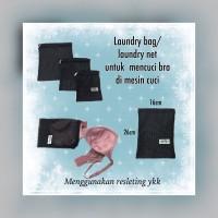 laundry bag/laundry net untuk mencuci bra menggunakan mesin cuci