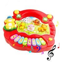 Mainan Baby Piano/ Piano Bayi/ Music animal farm