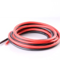 Hobby 1 Meter Pure Silicon Wire 12 AWG - Black (9674)