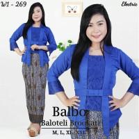 Setelan Kebaya Modern Balbo Blue