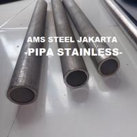 1 INCH TEBAL 3,4 mm SCH40 PJG 30 cm | PIPA STAINLESS SEAMLESS