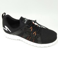 sepatu running specs prelude black original new 2018