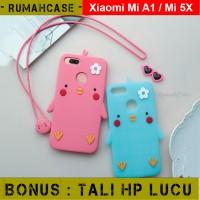 Xiaomi Mi A1 / Mi 5X - Chicks 3D Cute Soft Case Casing Karakter imut