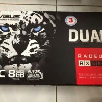 Asus RX 580 Dual OC 8GB DDR5 256BIT