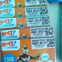 KARTU PERDANA BOLT 1.5 GB
